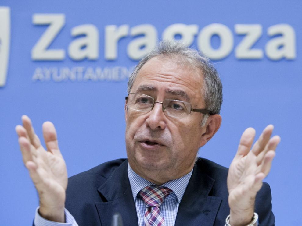 Fernando Gimeno, durante una rueda de prensa.