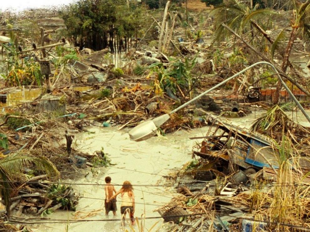 Imagen de la película 'Lo imposible' de Bayona