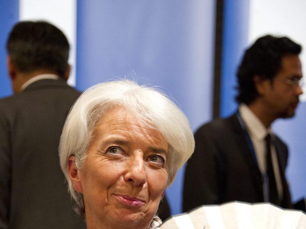 Christine Lagarde en Tokio