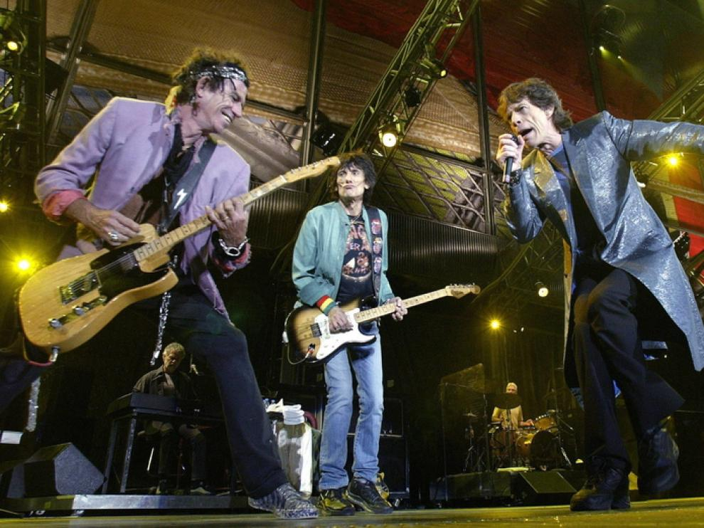 The Rolling Stones, foto de archivo