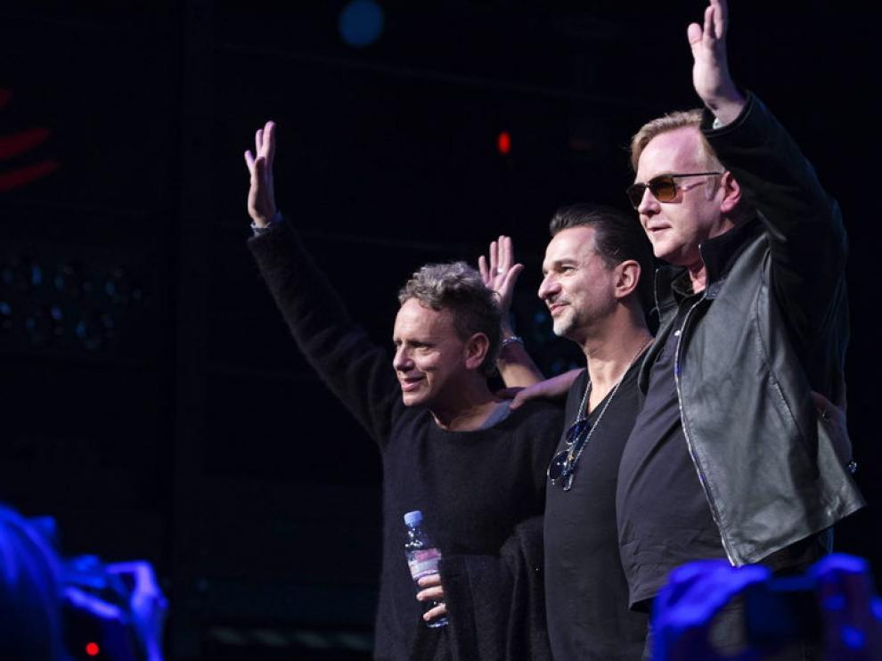 Depeche Mode actuará en el BIlbao BBK Live.