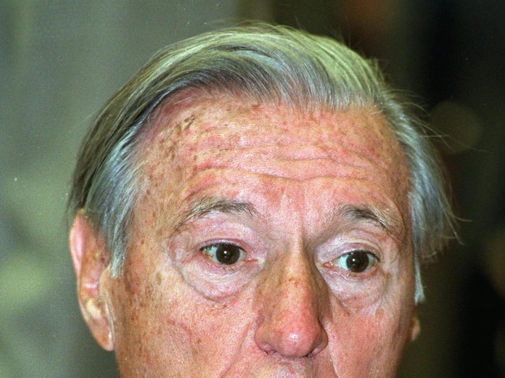 El escritor, durante la presentación de su libro 'La saga de los Maura'