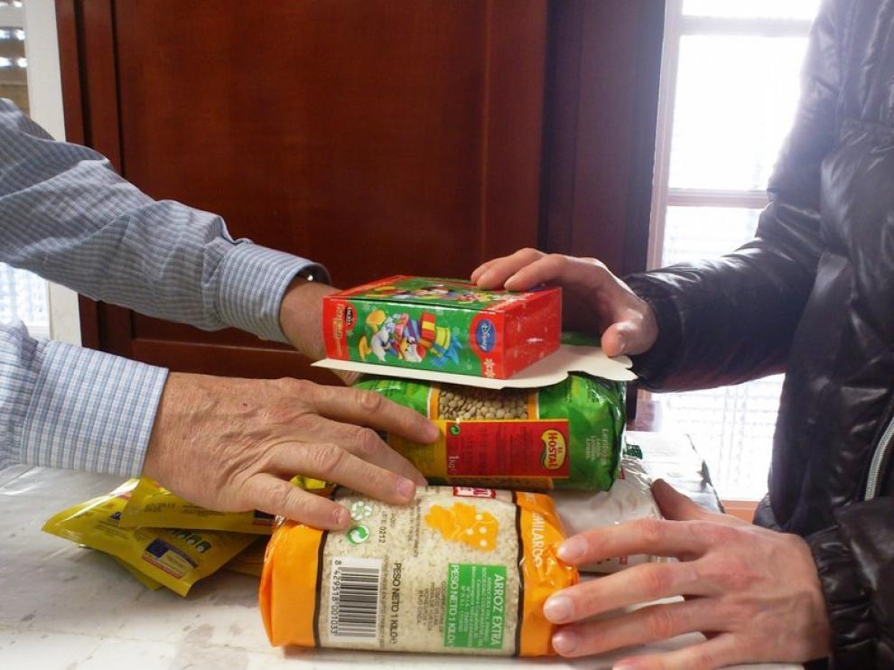 El Refugio ha entregado 61.316 kilos de alimentos
