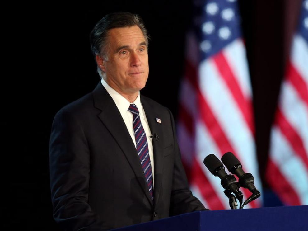 Romney en una imagen de archivo.
