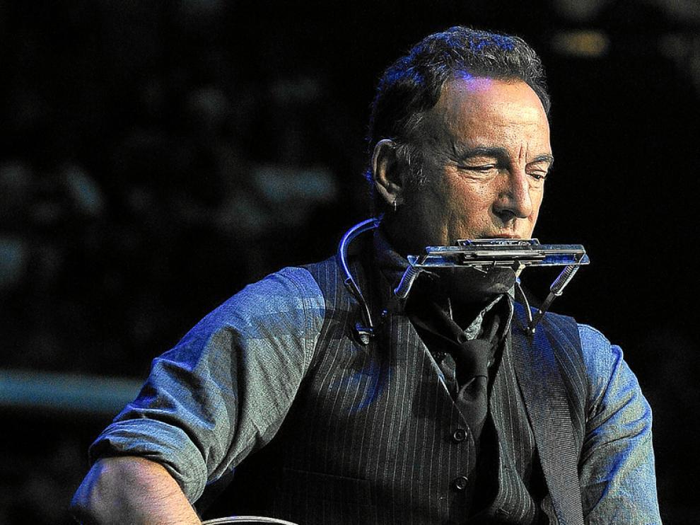 Bruce Springsteen, durante un concierto