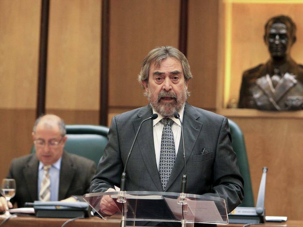 El alcalde Juan Alberto Belloch