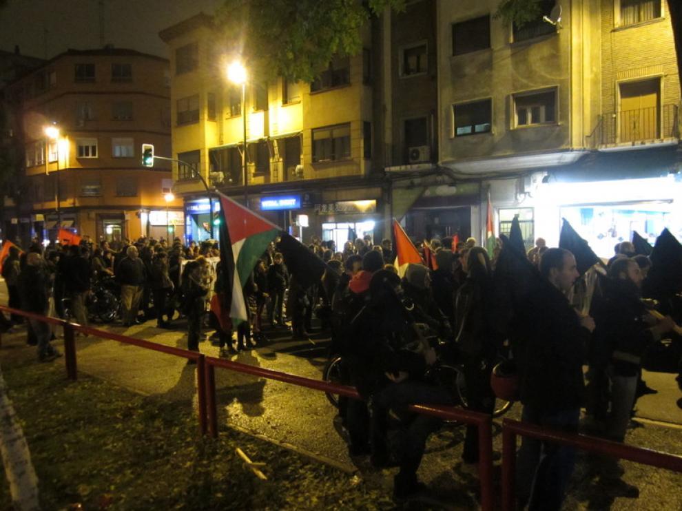 En ella ha participado el Foro de Palestina Libre de Zaragoza, que ha denunciado la situación en la que se encuentra el pueblo palestino en Gaza
