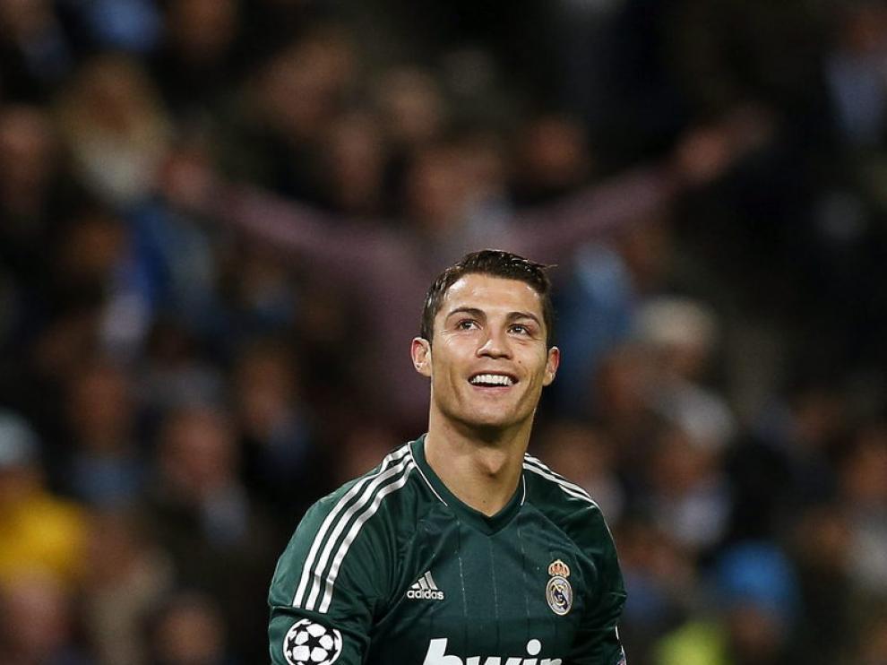 El madridista Cristiano Ronaldo no fue capaz de acabar con su sequía goleadora.