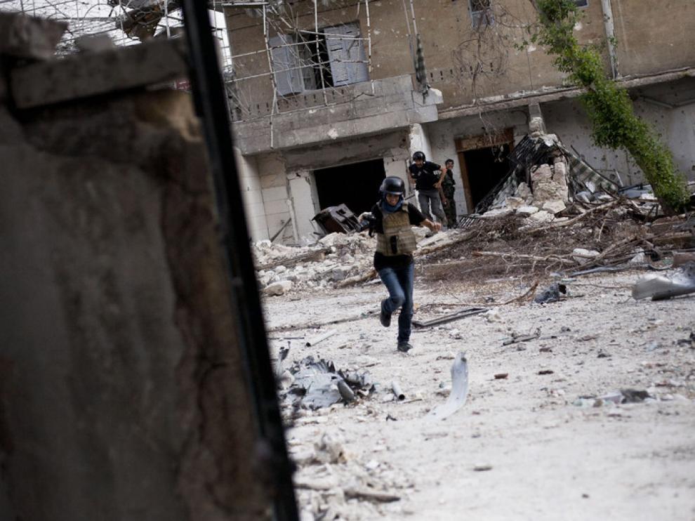 Maysun, en Siria (MANU BRABO)
