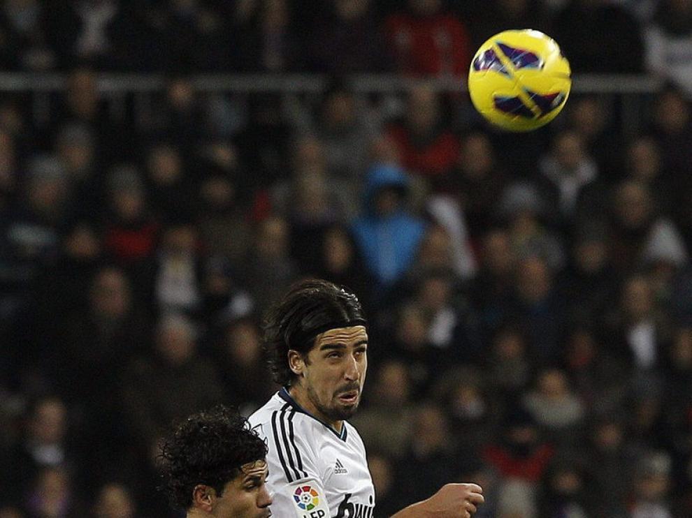 Imagen del partido entre el Real Madrid y el Atlético de Madrid