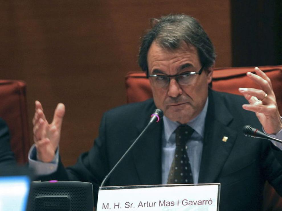 Artur Mas en una imagen de este lunes