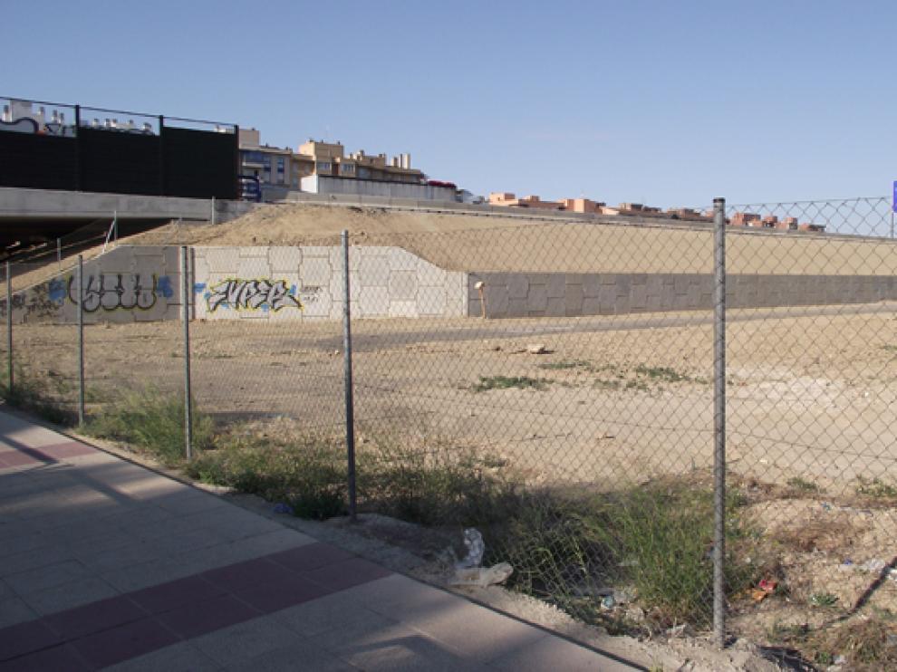 Parque Goya es el único barrio sin barreras de sonido junto a la Ronda Norte.