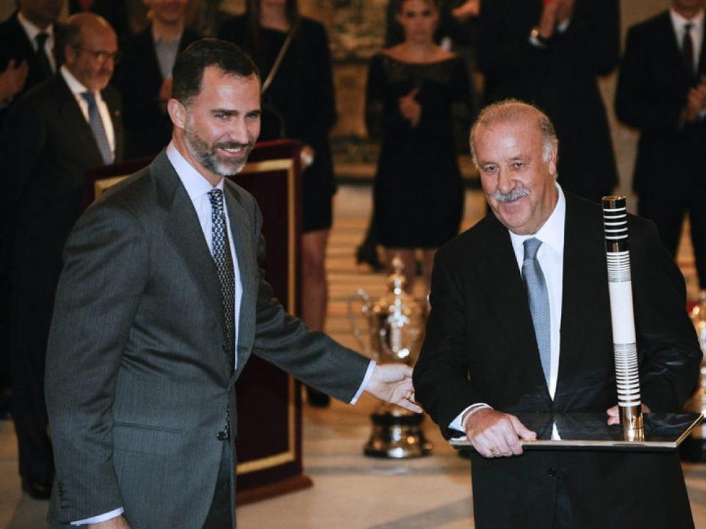 Entrega de premios a Ronaldo y Del Bosque