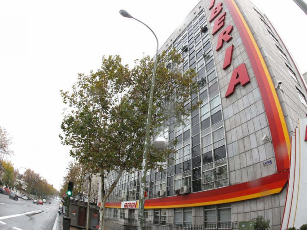 Sede Iberia en Madrid
