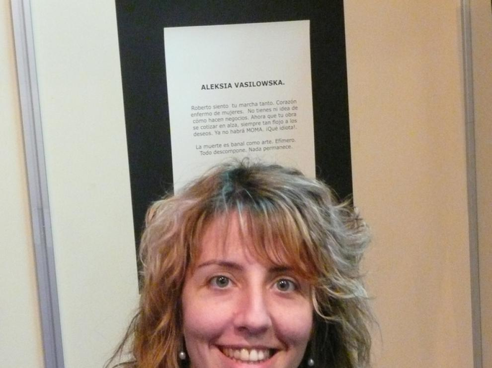 Chusa Garcés, escritora y responsable de dirección de la feria