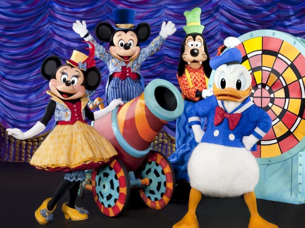 Los personajes Disney vuelven a Zaragoa con 'La magia de Mickey'