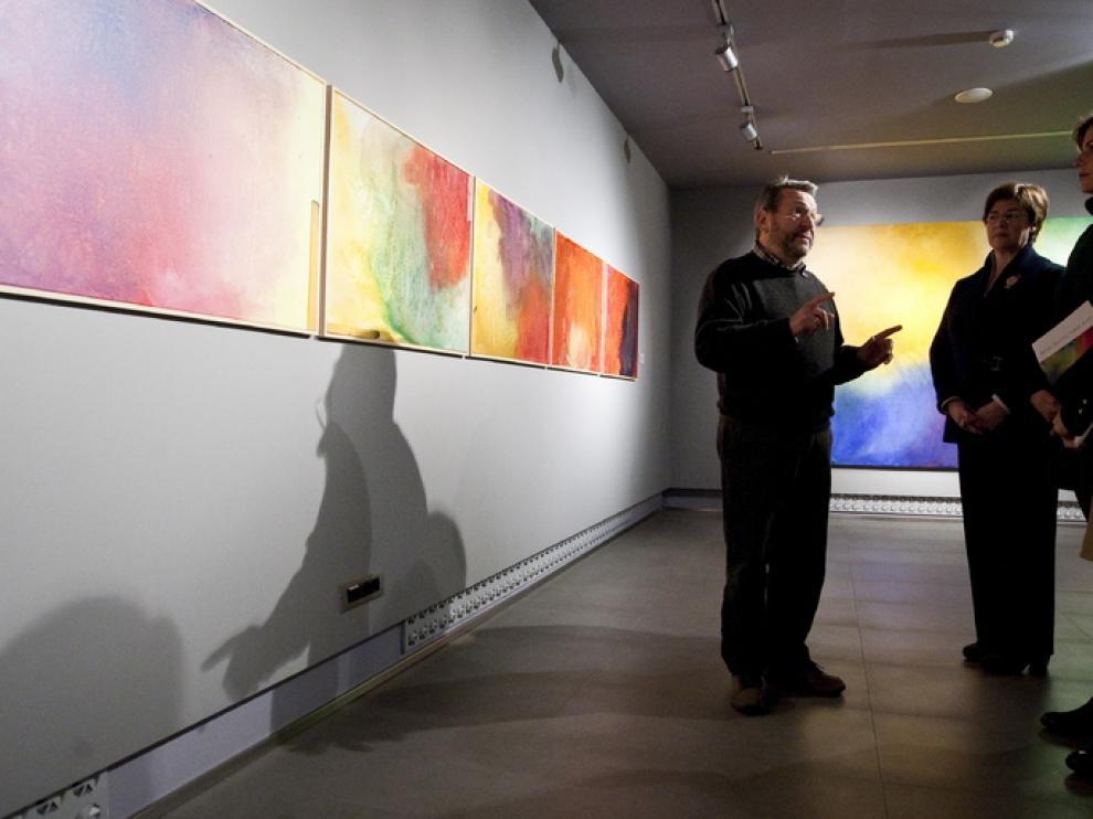 Presentación de la exposición de José Luis Lasala