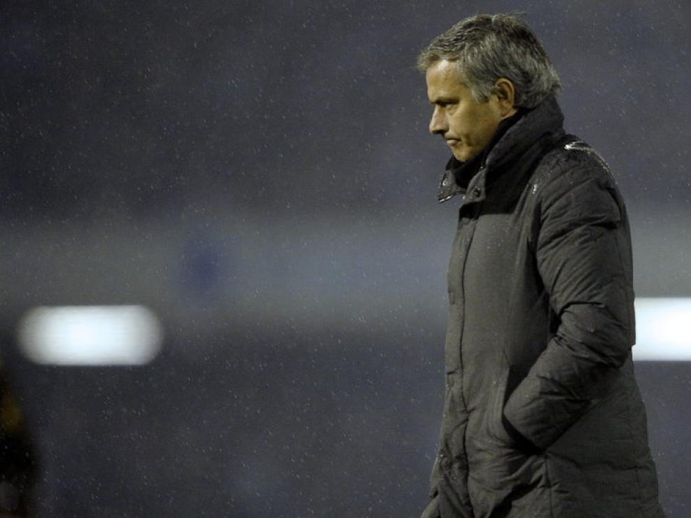 El entrenador del Real Madrid, José Mourinho
