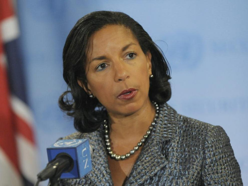 Susan Rice, embajadora de EE.UU. en la ONU