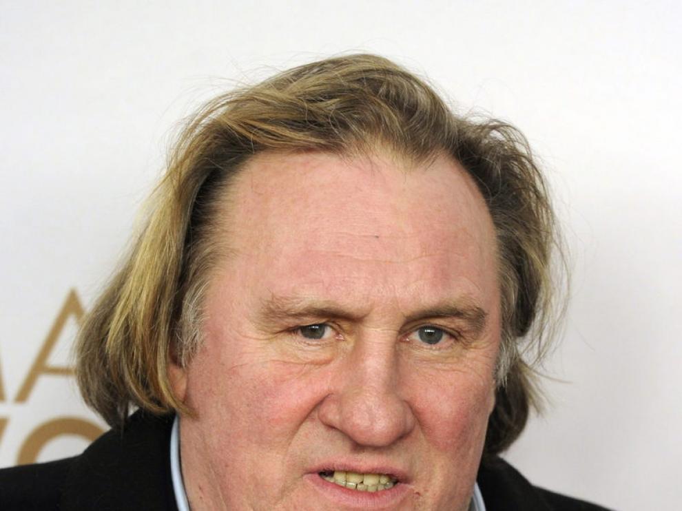 Gerard Depardieu, foto de archivo del 2010