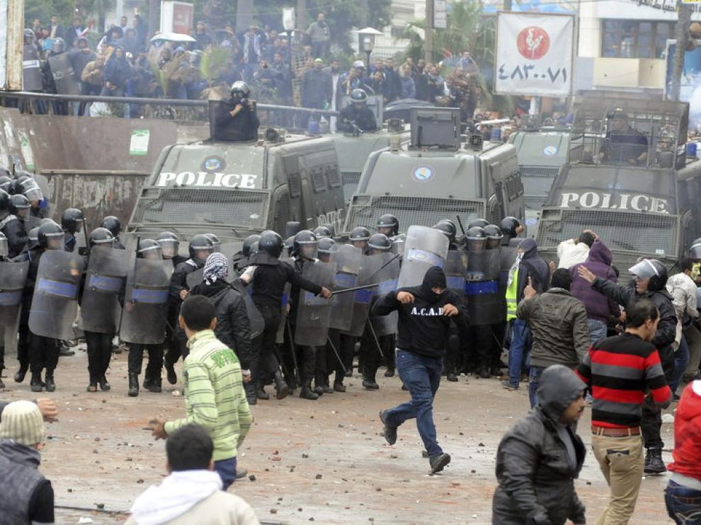 Disturbios en Alejandría