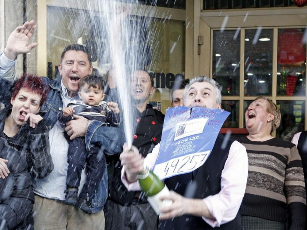 Un bar de Valencia ha vendido 1,74 millones de euros de este quinto premio.