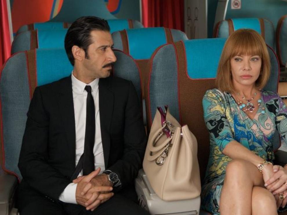 'Los amantes pasajeros