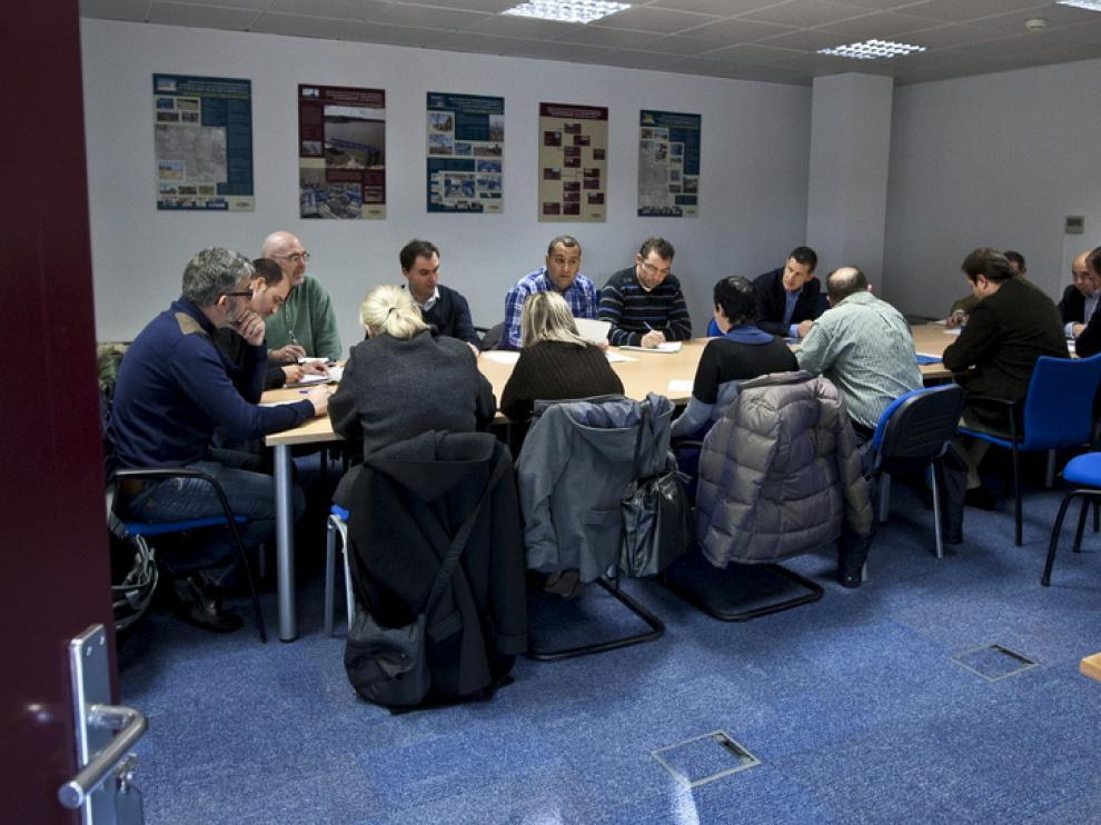 Reunión de la dirección de SARGA, la sociedad que más facturó