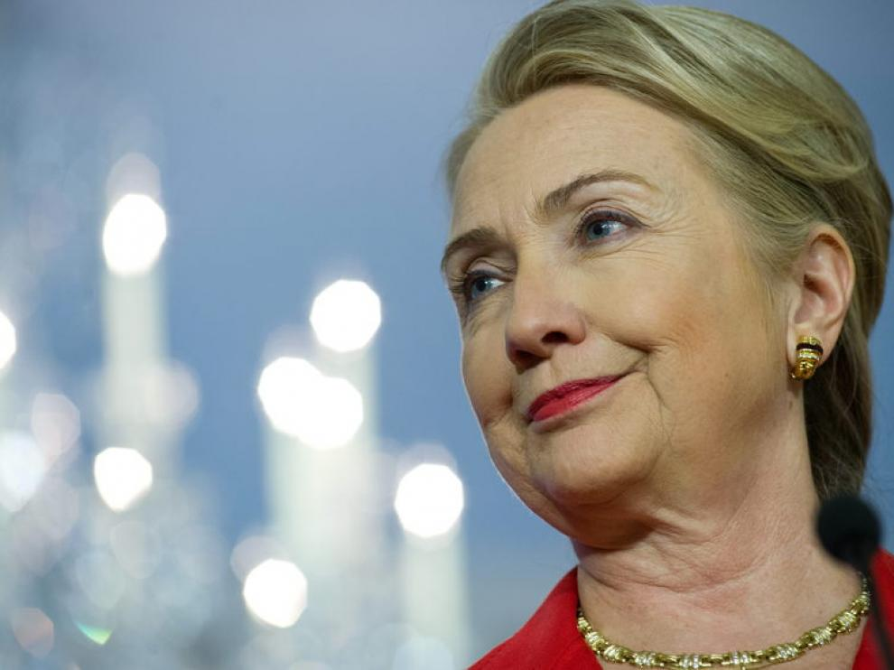 Hillary Clinton. Foto de archivo