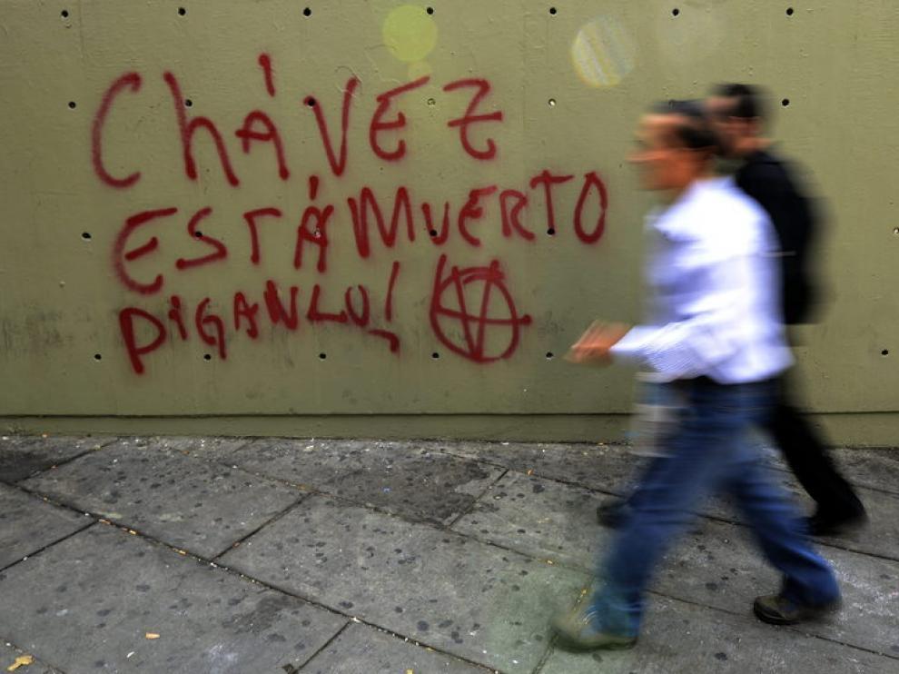 Grafiti en las calles de Caracas