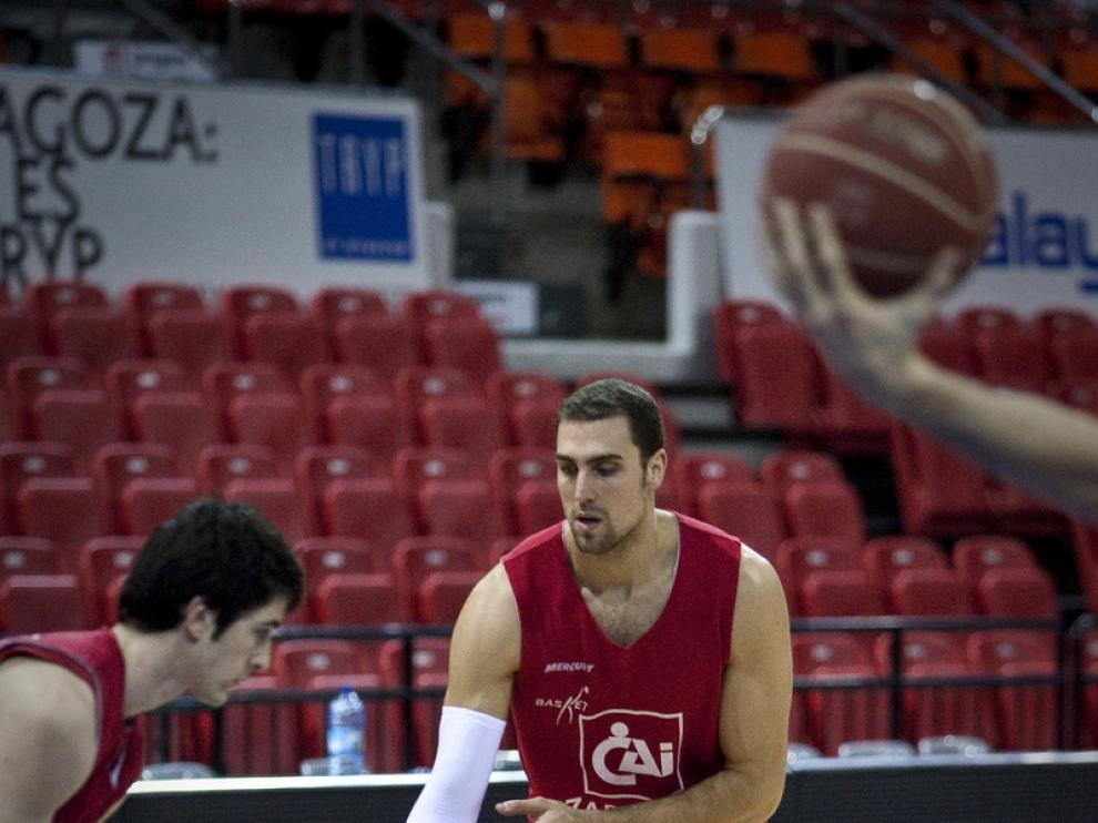Pablo Aguilar, uno de los veteranos en disputar la copa del Rey.