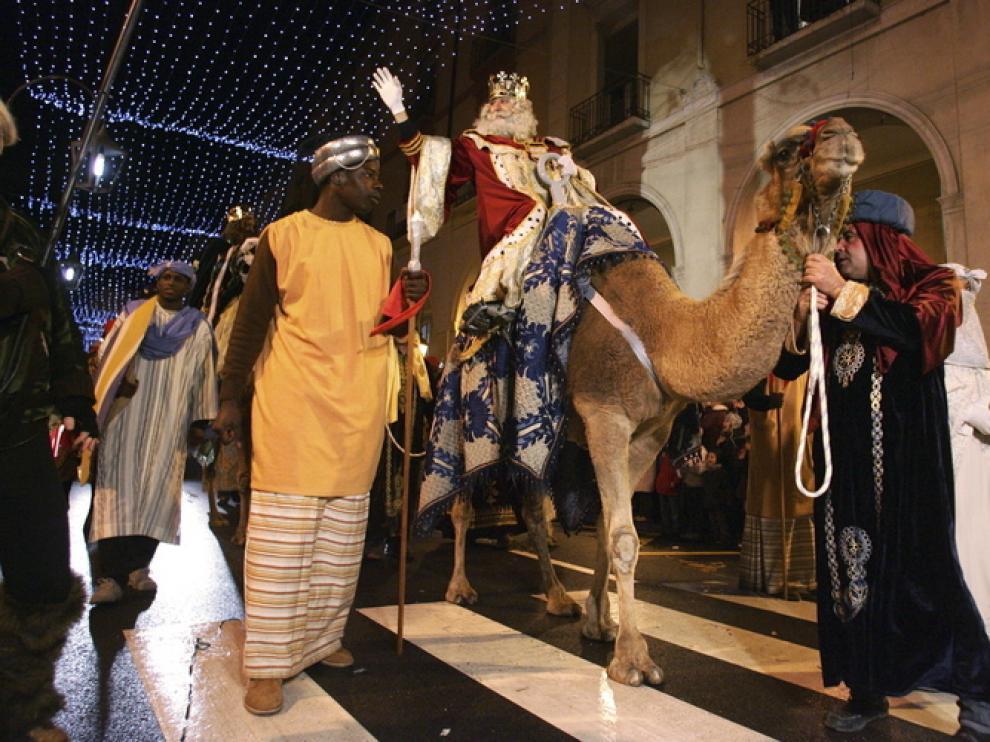 Reyes Magos en Huesca