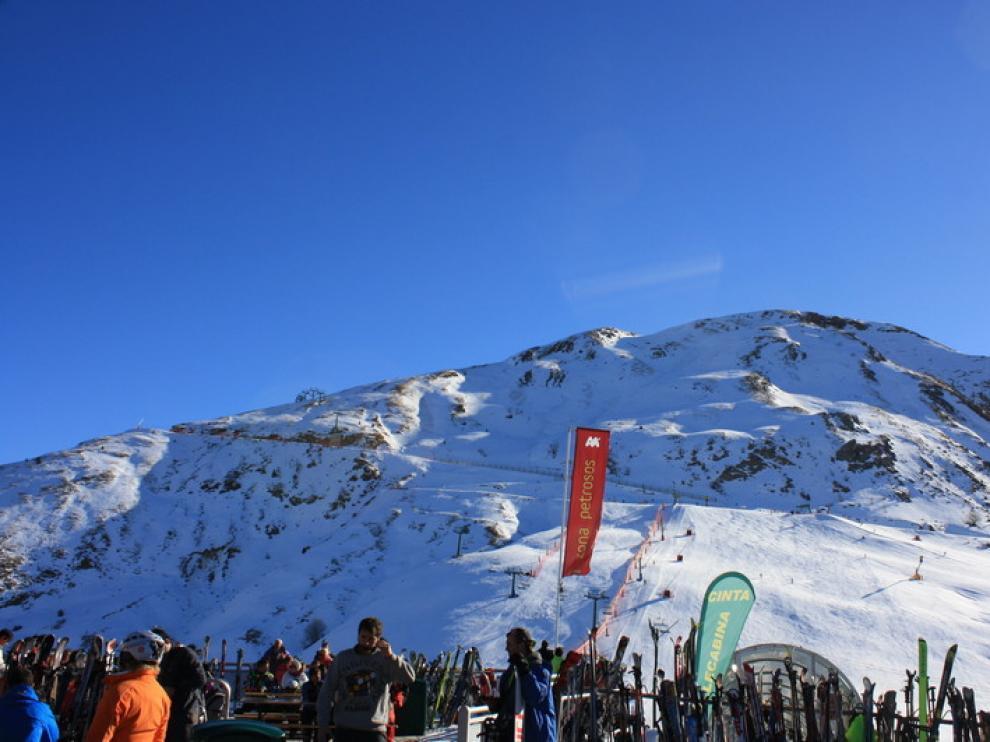 Estación de esquí de Panticosa, este viernes