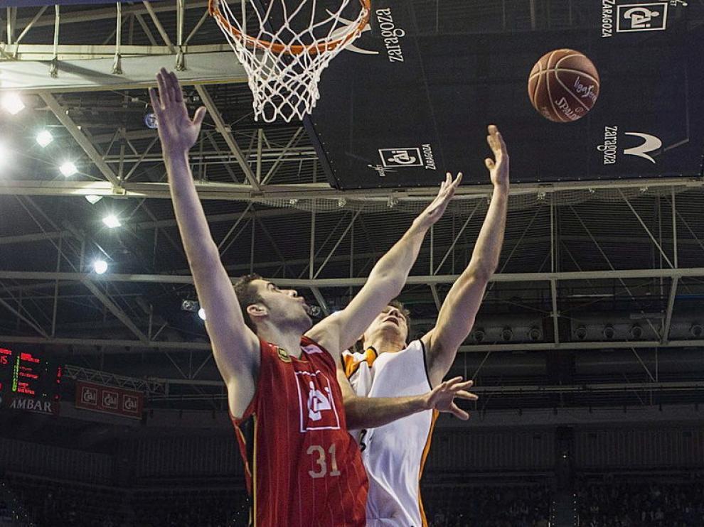 Decimosexta jornada de la Liga Endesa ACB disputada en el pabellón Príncipe Felipe de Zaragoza