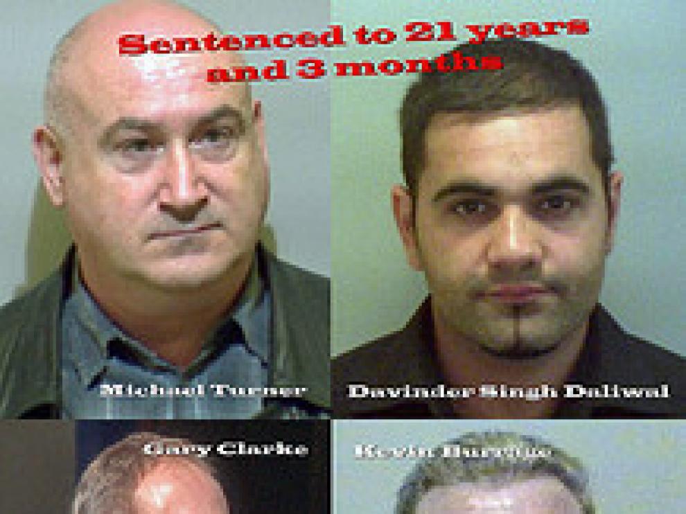 La web recoge los nombres, fotografías y sentencias de los condenados
