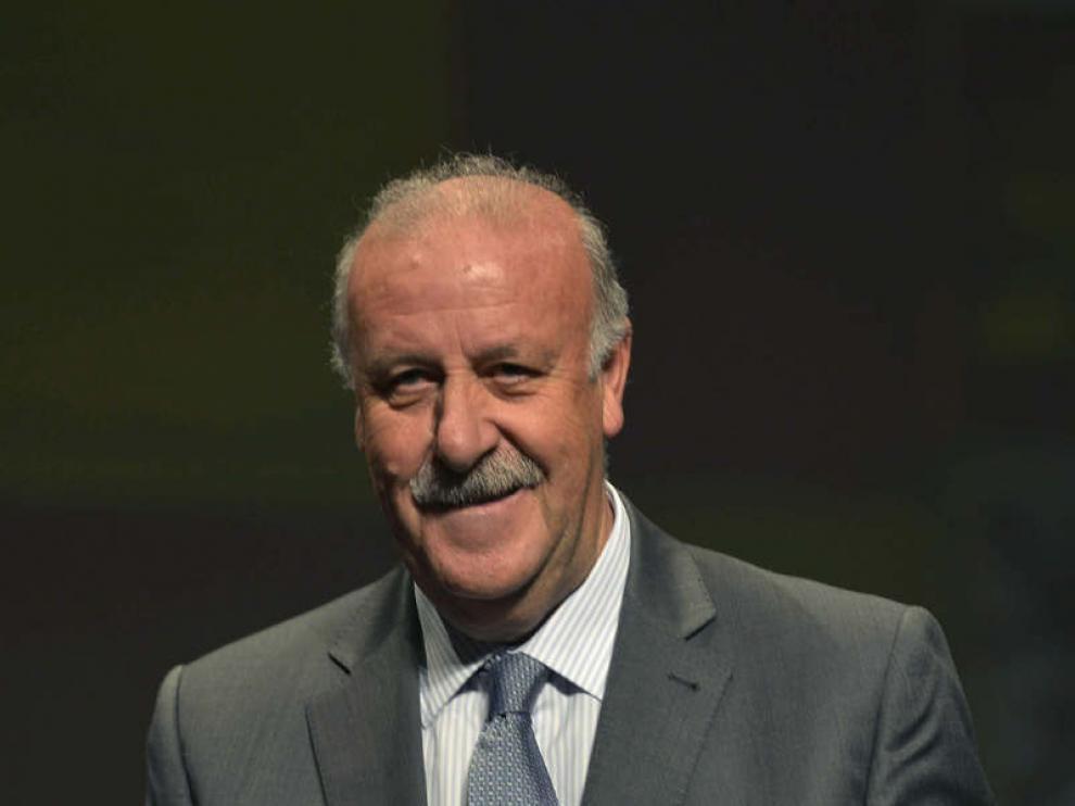 Del Bosque ha recogido este viernes la medalla de oro de Jaén.