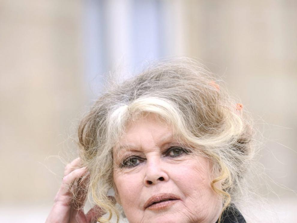 Fotografía de archivo de la actriz francesa Brigitte Bardot