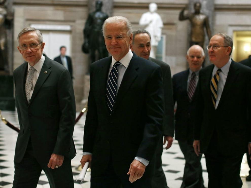 El vicepresidente de EE. UU., Joe Biden
