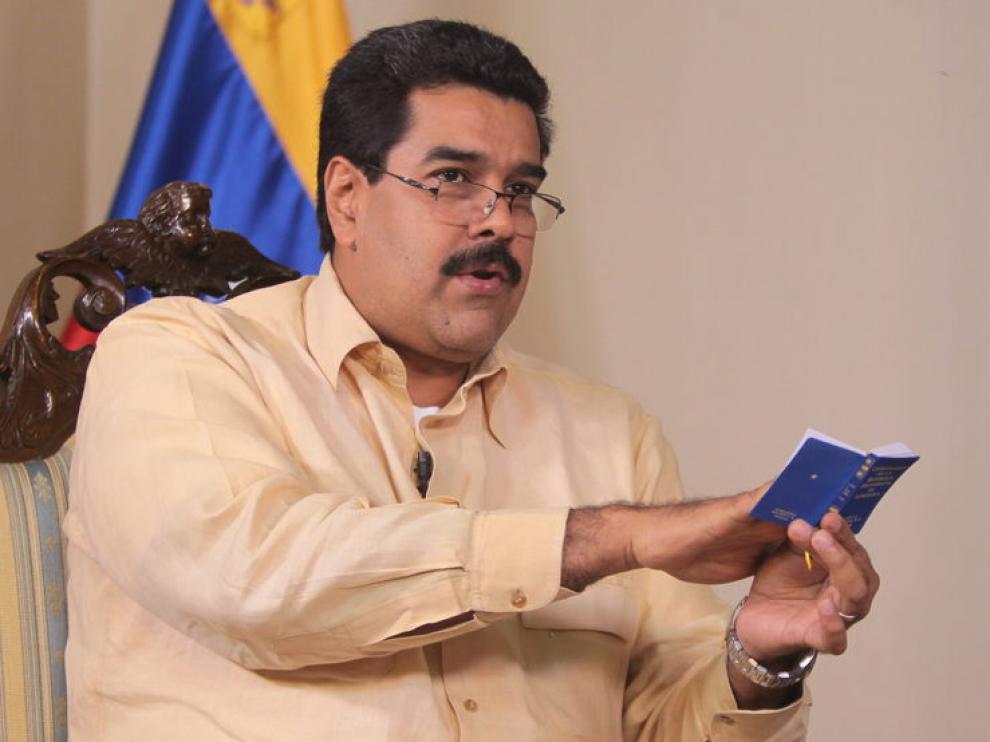El vicepresidente de Venezuela, Nicolás Maduro