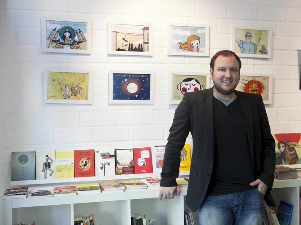 Víctor Meneses, en El armadillo ilustrado