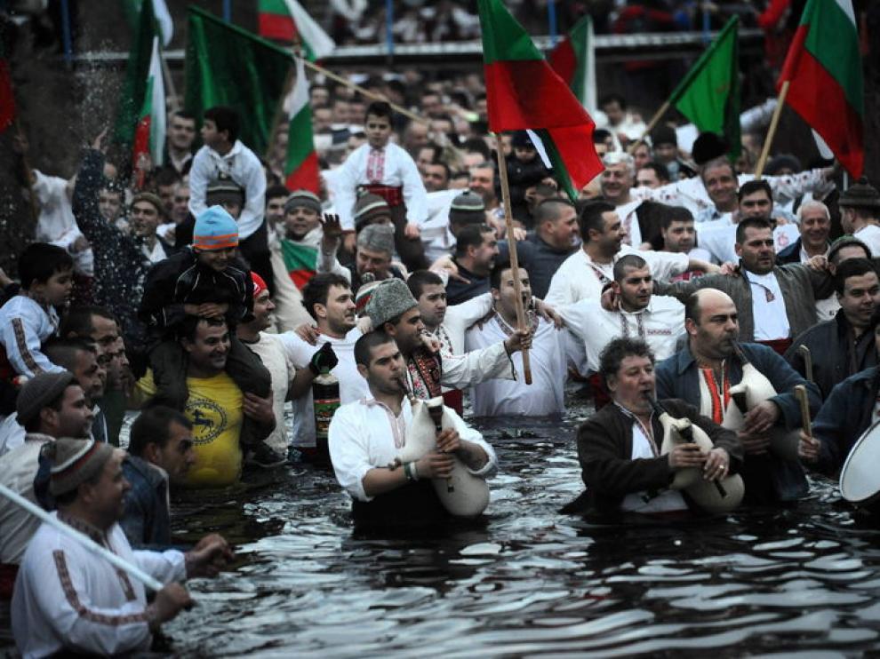Baño en el río Tundza