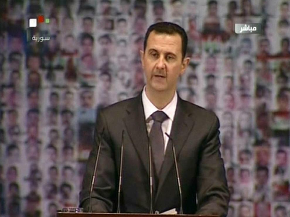 Bashar al Asad, foto de archivo