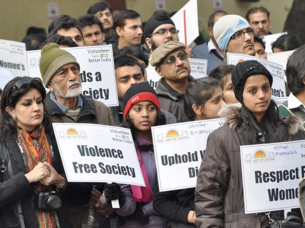 Desde que murió se repiten los actos de protesta en la India