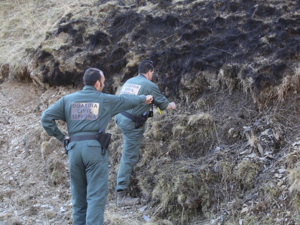 La Guardia Civil investiga el suceso