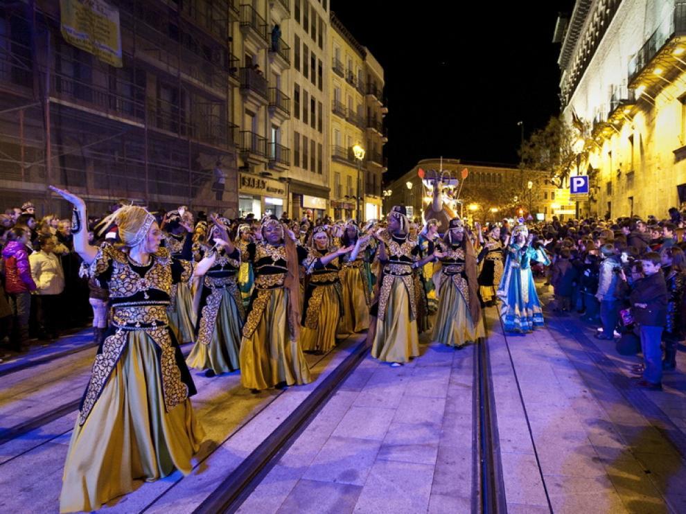 Imagen de archivo de la cabalgata de Reyes de 2014