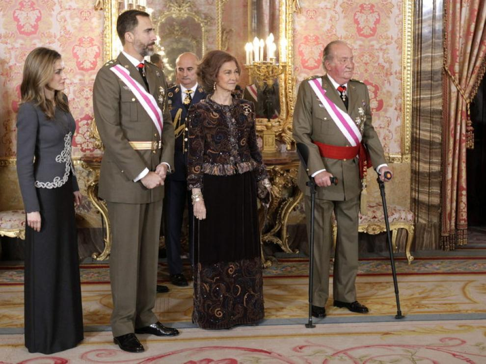 Celebración de la Pascua Militar en Madrid en 2013