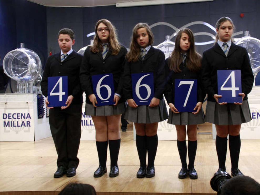 El segundo premio fue para el número 46.674