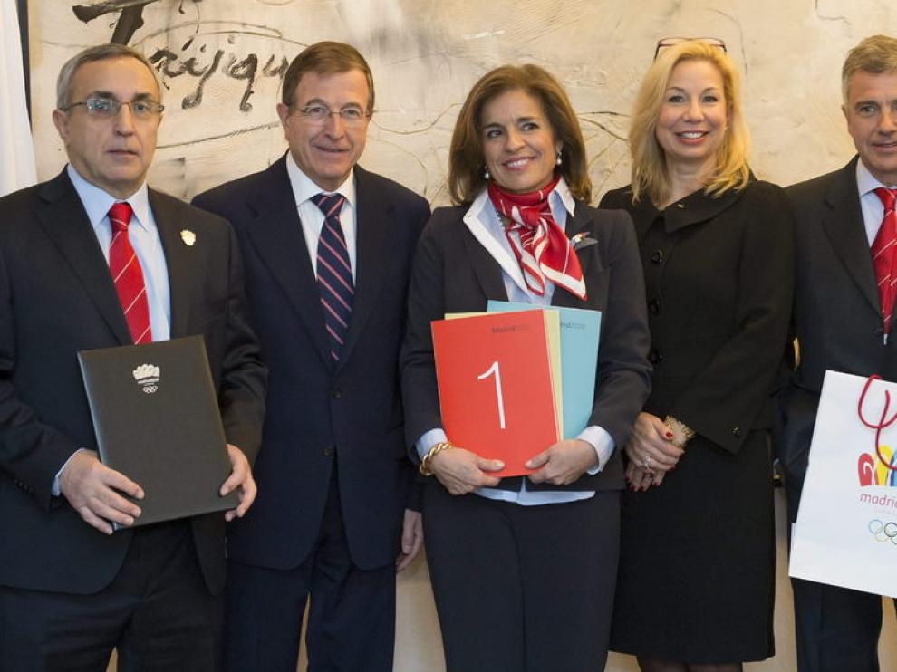 Madrid 2020 presenta su candidatura olímpica