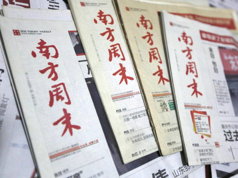 Algunos rotativos chinos