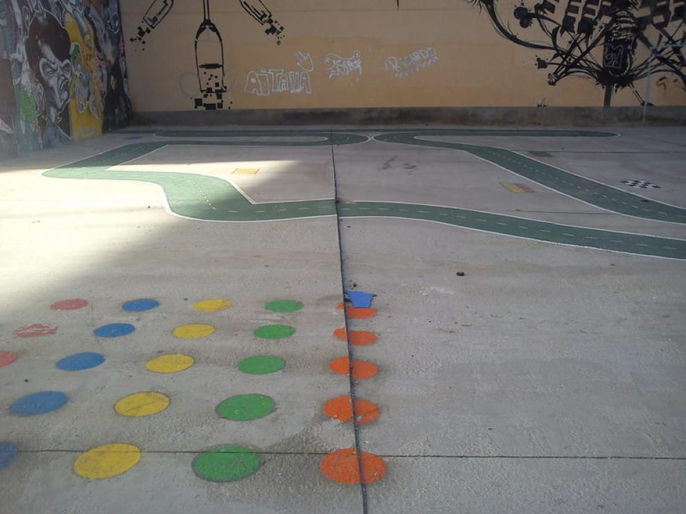 Estado del parque infantil de la calle San Agustín